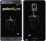 "Чехол на Samsung Note Edge SM-N915 Черная клубника ""3585c-128"""