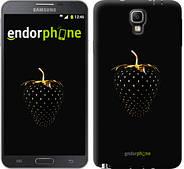 """Чехол на Samsung Galaxy Note 3 Neo N7505 Черная клубника """"3585u-136"""""""
