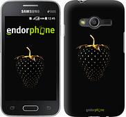 """Чехол на Samsung Galaxy Ace 4 G313 Черная клубника """"3585u-207"""""""