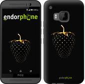 """Чехол на HTC One M9 Черная клубника """"3585u-129"""""""