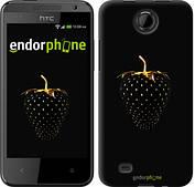 "Чехол на HTC Desire 300 Черная клубника ""3585c-224"""