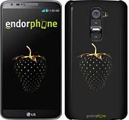 """Чехол на LG G2 Черная клубника """"3585u-37"""""""