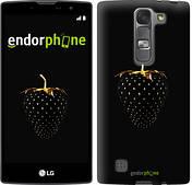 """Чехол на LG G Pro 2 D838 Черная клубника """"3585u-375"""""""