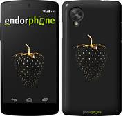 "Чехол на LG Nexus 5 Черная клубника ""3585c-57"""