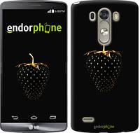 "Чехол на LG Nexus 5X H791 Черная клубника ""3585u-150"""