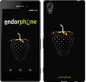 """Чехол на Sony Xperia Z3+ Dual E6533 Черная клубника """"3585u-165"""""""
