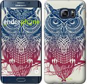 "Чехол на Samsung Galaxy S6 Edge Plus G928 Сова 2 ""2726u-189"""