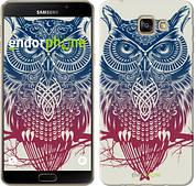 """Чехол на Samsung Galaxy A9 A9000 Сова 2 """"2726u-107"""""""