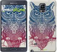 "Чехол на Samsung Galaxy Note 4 N910H Сова 2 ""2726c-64"""