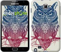 "Чехол на Samsung Galaxy Note i9220 Сова 2 ""2726u-316"""
