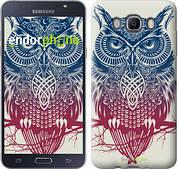 """Чехол на Samsung Galaxy J7 (2016) J710F Сова 2 """"2726c-263"""""""
