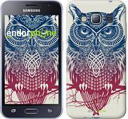 "Чехол на Samsung Galaxy J1 (2016) Duos J120H Сова 2 ""2726u-262"""