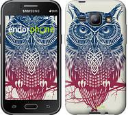 """Чехол на Samsung Galaxy J1 J100H Сова 2 """"2726c-104"""""""