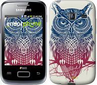 """Чехол на Samsung Galaxy Y Duos S6102 Сова 2 """"2726u-251"""""""