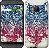 "Чехол на HTC One M9 Сова 2 ""2726u-129"""