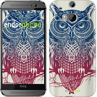 "Чехол на HTC One M8 dual sim Сова 2 ""2726c-55"""