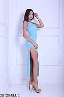 Женское платье Подіум Melinda 20120-BLUE XS Голубой