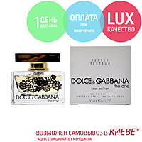 Tester Dolce & Gabbana The One. Eau De Parfum 75 ml / Тестер Парфюм Дольче Габанна Зе Уан Лейс Эдишн 75 мл