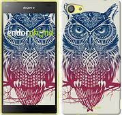 """Чехол на Sony Xperia Z5 Compact E5823 Сова 2 """"2726u-322"""""""