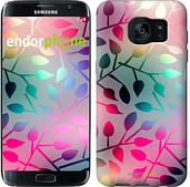 "Чехол на Samsung Galaxy S7 Edge G935F Листья ""2235c-257"""