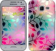 "Чехол на Samsung Galaxy Core Prime G360H Листья ""2235c-76"""