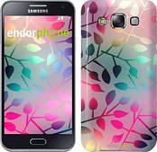"""Чехол на Samsung Galaxy E5 E500H Листья """"2235c-82"""""""