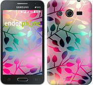 "Чехол на Samsung Galaxy Core 2 G355 Листья ""2235c-75"""