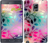 "Чехол на Samsung Note Edge SM-N915 Листья ""2235c-128"""