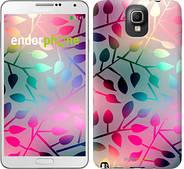 "Чехол на Samsung Galaxy Note 3 N9000 Листья ""2235c-29"""
