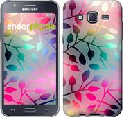 """Чехол на Samsung Galaxy J5 J500H Листья """"2235c-100"""""""