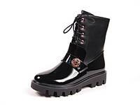 Ботинки демисезонные,высокие, стильная обувь для девочки-подростка р.33-38 ТМ Bi&Ki, код C-B87-04-B