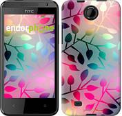 """Чехол на HTC Desire 300 Листья """"2235c-224"""""""