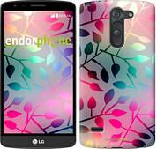 """Чехол на LG G3 Stylus D690 Листья """"2235c-89"""""""