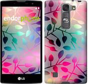 """Чехол на LG G Pro 2 D838 Листья """"2235u-375"""""""