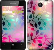 "Чехол на Microsoft Lumia 430 Листья ""2235u-153"""