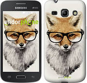 "Чехол на Samsung Galaxy Star Advance G350E Лис в очках ""2707u-210"""