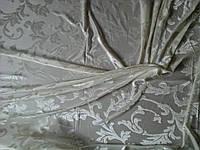 Тюль-штора велюровая ваниль, фото 1