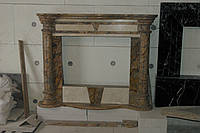 Мраморный портал для камина