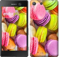 "Чехол на Sony Xperia M5 Макаруны ""2995c-217"""