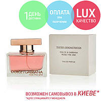 Tester Dolce & Gabbana The One. Eau De Parfum 75 ml / Тестер парфюм  Дольче Габанна Роуз Зе Уан 75 мл