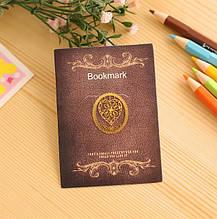 Оригинальная закладка для книги Сердце