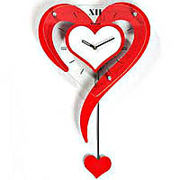 Настенные часы Валентинка