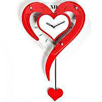Настенные часы Валентинка, фото 1