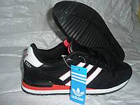 Кроссовки adidas zx  черные