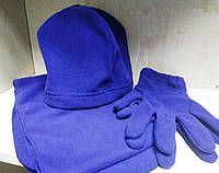 Набор (шапка, шарф, перчатки)