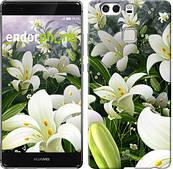 """Чехол на Huawei P9 Plus Белые лилии """"2686u-300"""""""