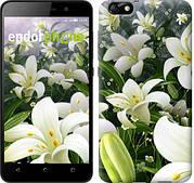 """Чехол на Huawei Honor 4X Белые лилии """"2686u-166"""""""