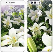 """Чехол на Huawei Honor 8 Белые лилии """"2686u-351"""""""