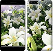 """Чехол на Huawei Ascend G6 Белые лилии """"2686u-367"""""""