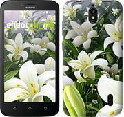 """Чехол на Huawei Ascend Y625 Белые лилии """"2686u-161"""""""
